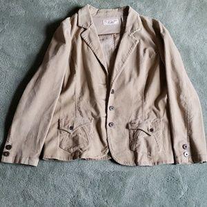 EUC Levi's Sz XL tan corduroy jacket